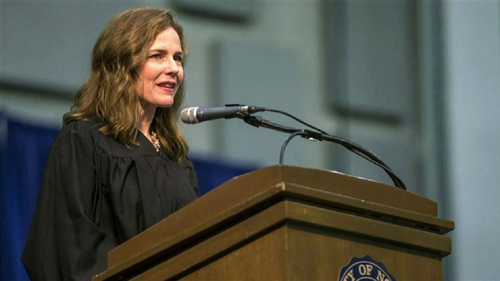 Amy Coney Barrett Nominated By Trump As SC Judge