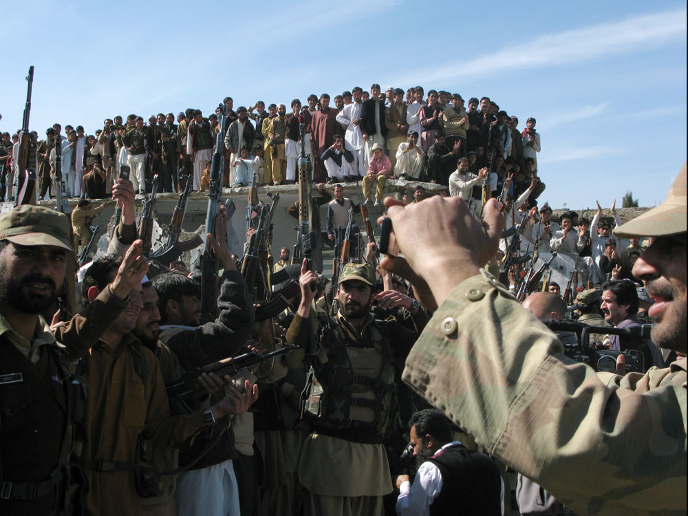 Amidst Peace Talks, 28 Policemen In Afghanistan Shot By Taliban